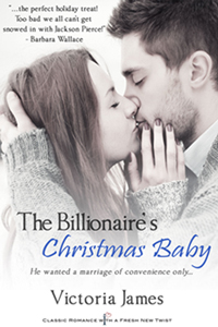 The Billionaire's Christmas Baby - By Victoria James