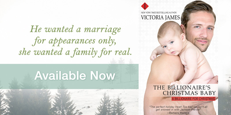 The Billionaire's Christmas Baby – Debut Book By Victoria James