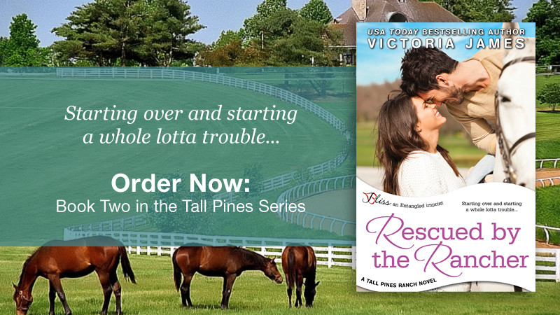 Rescued By The Rancher – By Victoria James