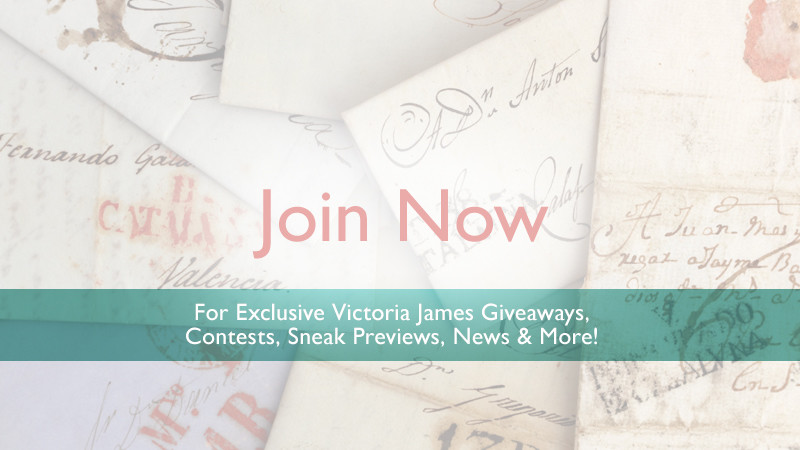 Join Victoria James' Newsletter Today