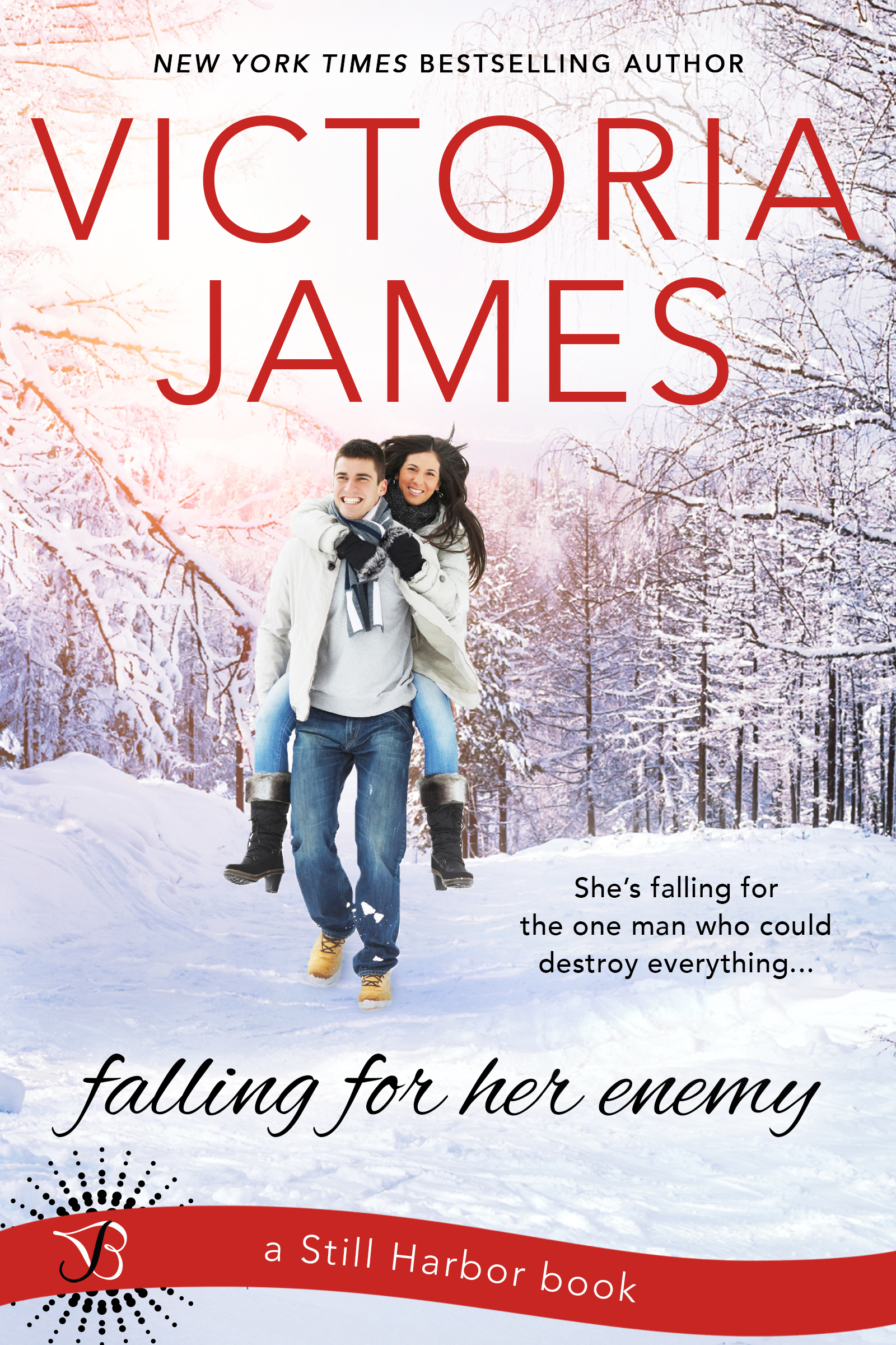 Cover Reveal-Falling for her Enemy